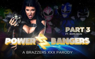 Romi Rain in Power Bangers XXX Parody