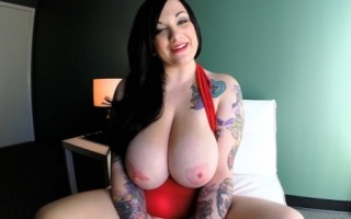 Scarlet LaVey tatoo Curves Unlimited