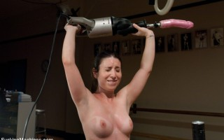 FuckingMachines.com special update - Fitness Sex - hot recruit sweats & cums while being machine fucked, trained & tested by super sexy fit Ariel X.