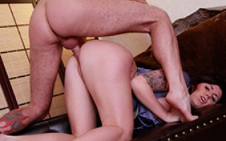 Hermelien gets fucked by a huge cock and loves it