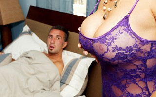 Vanilla is cleaning up after his stepson, Keiran, when she comes across his porn collection. The next day she walks in on Keiran jerking it and this turns her one greatly. Soon enough Keiran's dream comes true of pumping his stepmom's perfect plumpers and