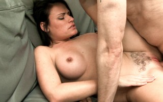 Ashli's stockier final fucks her hairy bush.