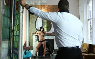 Kyra Hot is a brand new busty babe on the scene, and we've sent Farrel to welcome her to the Brazzers team the right way: with his fat cock. Kyra starts off by showing off her incredible body, running her soft hands all over her big tits and pretty pink p