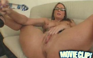 This little mama gets to pussy squirt for her mac