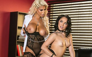 Bridgette B dominating her assistant Kristina Rose