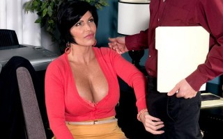 Hot Cream Injection For A Busty Milf