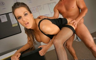 12 pics and 1 movie of Elle from Big Tits Boss
