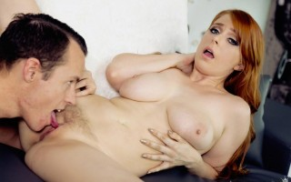 Busty redhead Penny Pax Titties And Trickshots