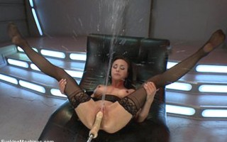 Literal streams of cum shoot out of the super famous porn stars pussy. See the legend soak everything in sight with EPIC orgasms filmed by 3 cameras.