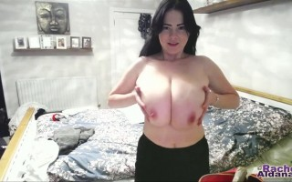 So did you miss me?  Did you miss my big boobs?  And all that has been going on with both me and them, since then?  Well, the good news is that both they and I are back again now, so come on inside and find out what's been going on!