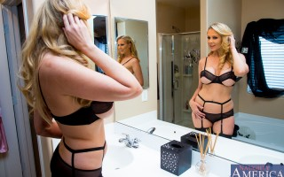 It's fun to fuck �€� when your husband's not home. That's Julia Ann's motto, and it always works because she's always happy. This time around she calls Bill and tells him to head her way since the other half isn