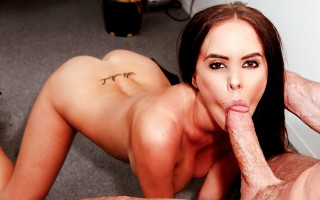 Peter North's Huge Dick Inside Brandy's Wet And Warm Mouth!