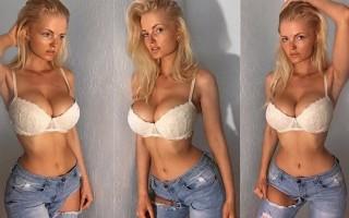Hot babe model Zienna Eve photos