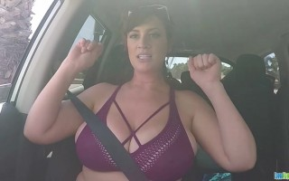 Beautiful Lana Kendrick Roadtrip Flashing Her Natural Wonders