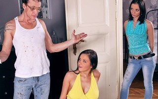 Candy just moved into her new apartment with her friend. She's a very responsible young adult but her roommate however is very irresponsible. She convinces Candy to spend her rent money on a store sale. When the landlord comes to collect Candy realizes th