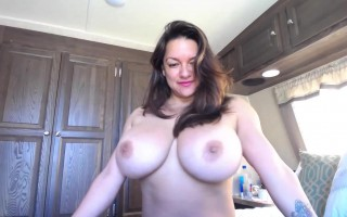 Monica Mendez Bikini Tryout Infront of Webcam