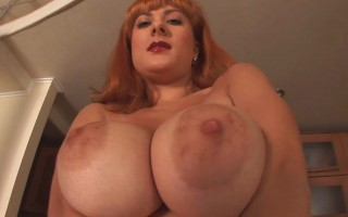 Valory Fleur In The Kitchen Show Her Big Juicy Titties