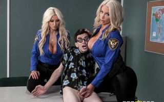 Fucking His Way Into the U.S.A with Brittany Andrews & Nicolette Shea