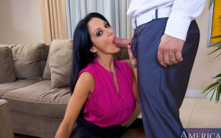 Ava Addams has a full schedule, so does her husband. They rarely see each other and Ava hasn't been fucked in a long time. All she really wants is dick, so she does what any successful women with no time on her hands would do, takes the first cock sh