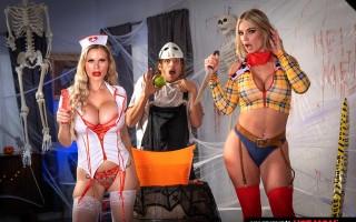 Casca Akashova & Rachael Cavalli need some dick after a big scare