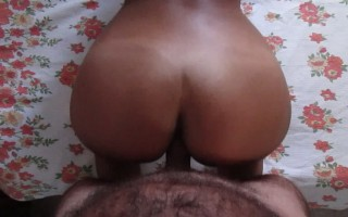 Doggy and cumming on hot ass