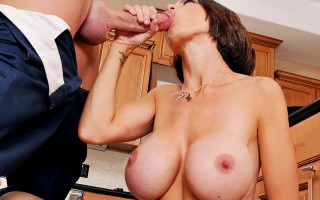 McKenzie is one dirty filthy cock hungry whore. She is the ultimate sexy momma who puts her whorish needs first and the needs of her family a distant second. When word gets out that the new electrician is smoking hot, she sabotages her own house to get hi