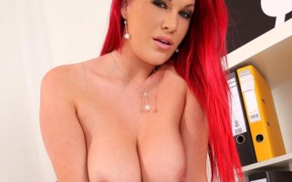 Seductive Redhead Paige Delight Gets her Tits & Twat Fucked