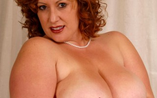 This hot bimbo BBW is horny for some jizz on her big mounds of tits that she milks the cock of all it's juices