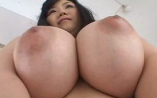Sexu busty asian Yuna posing her huge natural tits