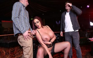 My stripping busty stepmom Emma Butt