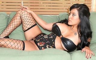 Big Tits Boss Hot Brunette