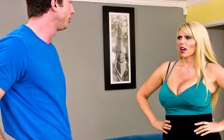 Jordan is one rude dude. He struts into Ms. Fishers house without so much as an invitation. That's ok though, because Ms. Fisher has a little secret of her own, and she's going to show Jordan exactly how a man should act when around a respectable milf wit