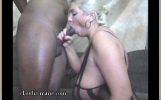 Claudia-Marie Chokes Down An Alabama Black Snake