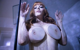 Busty mermaid Penny Pax gets fucked in the ass